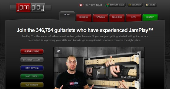 jamplay electric guitar lessons